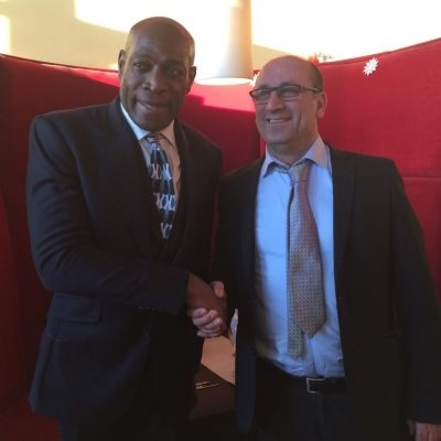 A Special Guest - Mr Frank Bruno